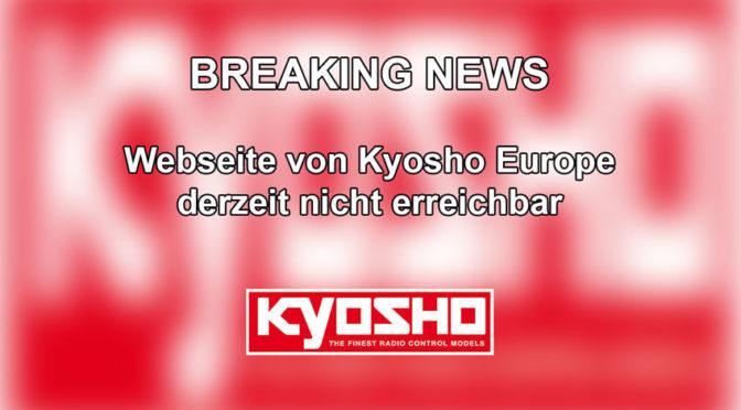Brand im OVH-Gebäude in Straßburg – Kyosho Europe Seite nicht erreichbar!