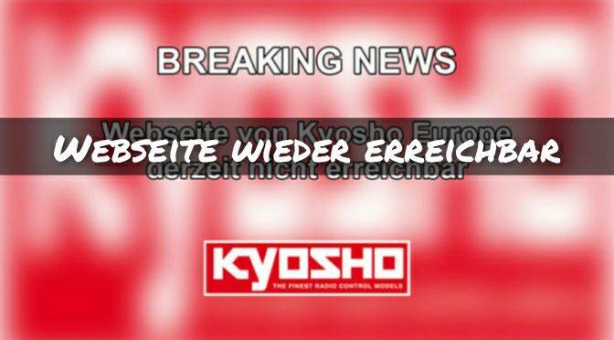 Kyosho Europe – Webseite wieder erreichbar