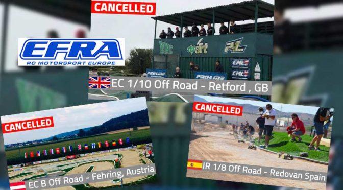 EFRA – Rennen abgesagt für 2021