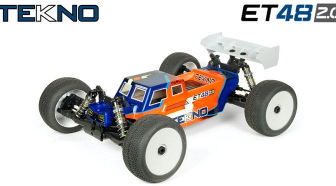 Tekno RC ET48 2.0 1/8 4WD Competition Elektro Truggy Kit