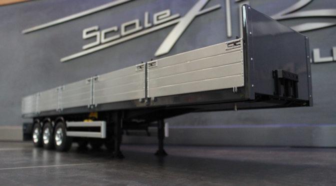 Pritschen-/ Baustoffauflieger 3-Achs von Scale Art