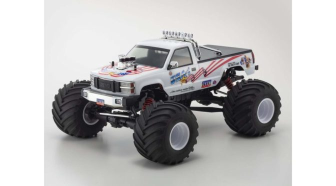 1/8 Scale 4WD Monster Truck USA-1 VE