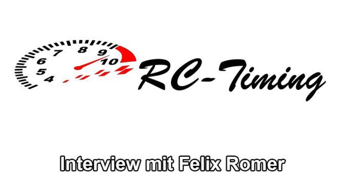 Ein Blick hinter die Kullisen mit Felix Romer von RC-Timing