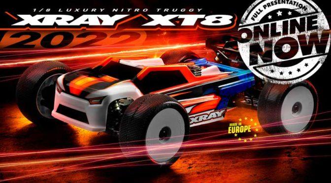 XT8'22 von Xray jetzt Online