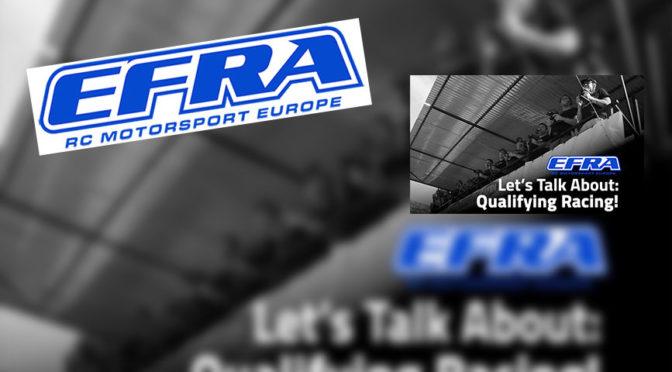 EFRA – Qualifikation / Vorläufe in neuem Format?