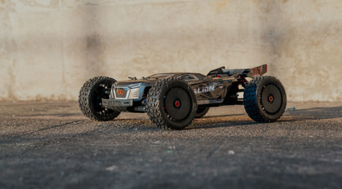 ARRMA® TALION™ 1/8 6S BLX  Extreme Bash Speed Truggy 4WD RTR