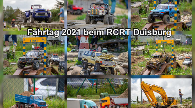 Fahrtag 2021 beim RCRT Scale Park Duisburg