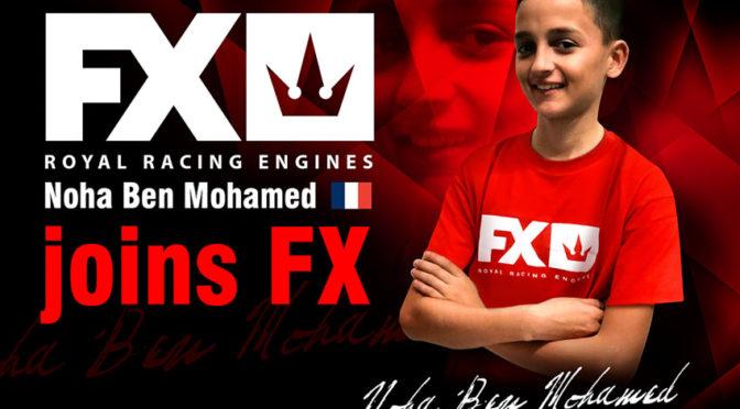 Noha Ben Mohamed Wechselt zum FX Engine Team