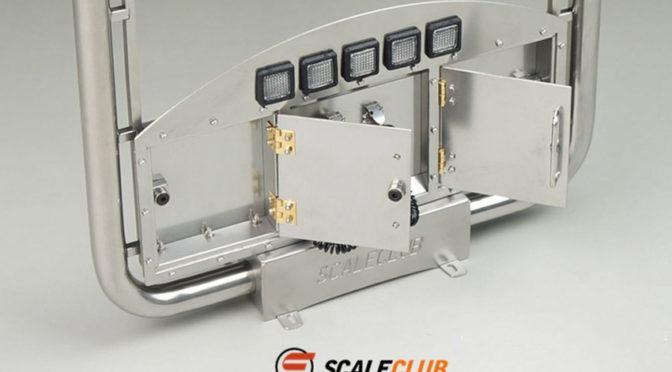 1/14 Auspuffanlage Euro mit LED und Staukästen ScaleClub