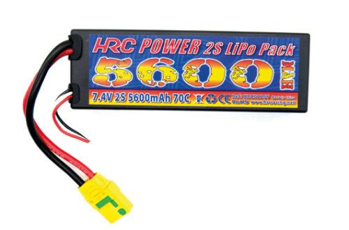 LiPo 2S Akku mit 7.4V 5600mAh im Hard Case