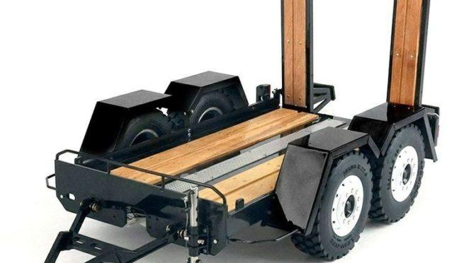 1:14 Anhänger für LKW zum Kompaktlader-Transport – thicon-models