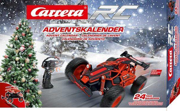 Der Carrera RC Turnator Adventskalender  weckt die Vorfreude auf Weihnachten