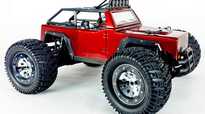 KAISER e-MTA 1:8 Brushless 4WD 6S Monster-Truck ROT RTR