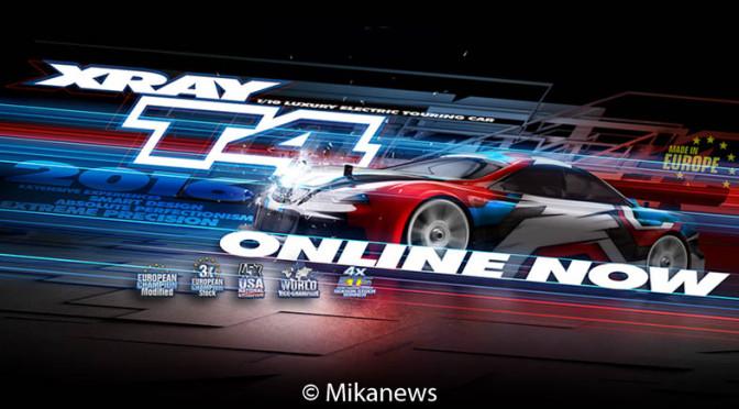 XRAY T4'16 – Der neue Tourenwagen – Details jetzt online