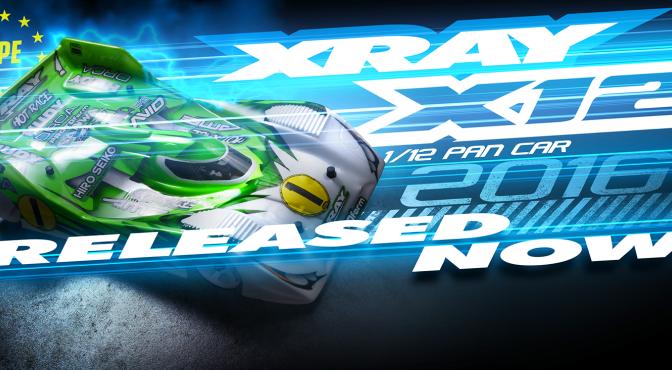 Jetzt ist er da – Der Xray X12 2016