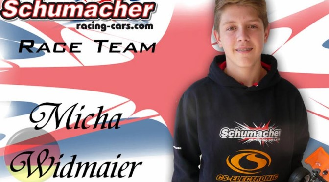 MICHA WIDMAIER RE-SIGNS BEI CS-ELECTRONIC UND SCHUMACHER RACING