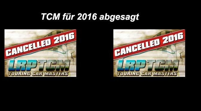 LRP Touring Car Masters für 2016 abgesagt