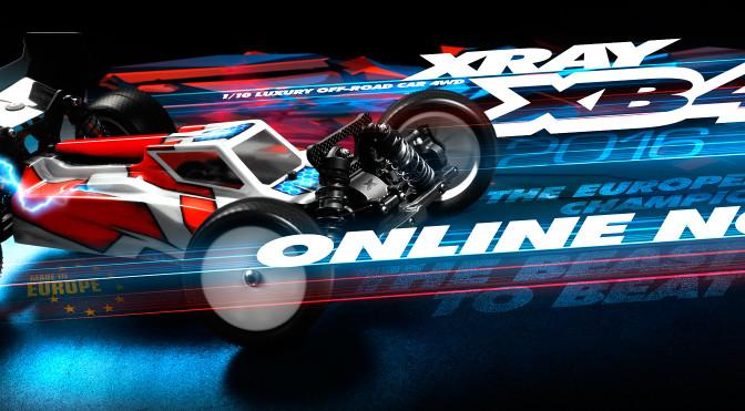 XRAY XB4'16 online now