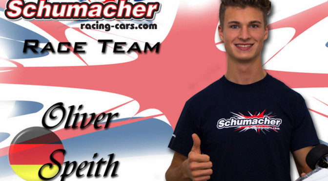 OLIVER SPEITH SIGNS SCHUMACHER RACING