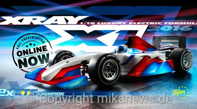 XRAY X1'16 jetzt enthüllt