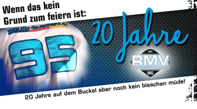 RMV-Deutschland – Glückwunsch zum 20 jährigen Firmenjubiläum