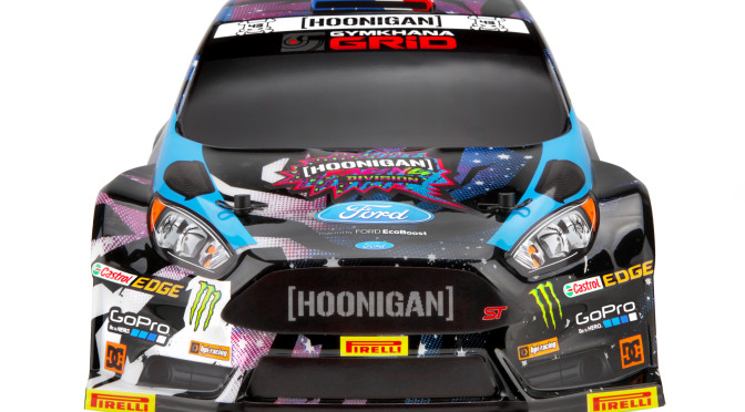 HPI Micro RS4 RTR Ford Fiesta ST RX43 – Ken Block Edition 2015