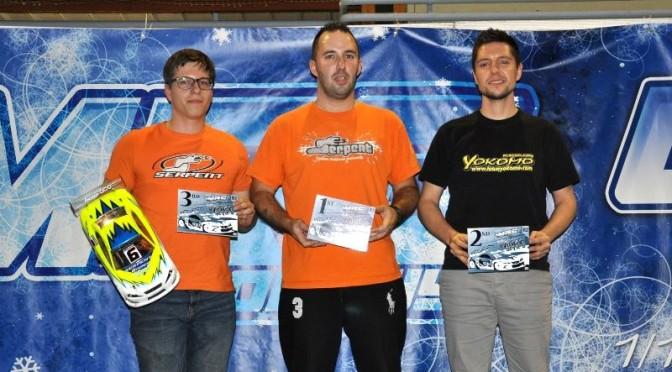 Winter Series Longwy mit Sieg von Marc Fischer / Frankreich