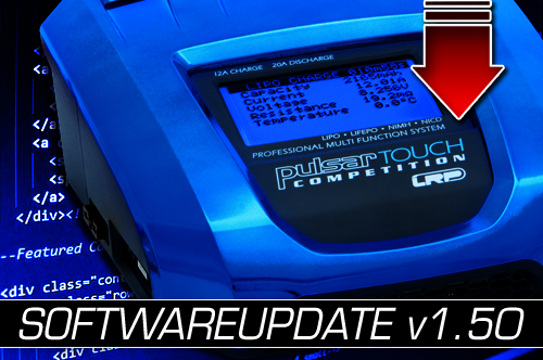 Pulsar Touch Competition – Neues Firmware-Update!
