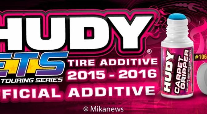 HUDY Reifenhaftmittel – offizielles Reifenhaftmittel für die ETS Saison 2015-2016