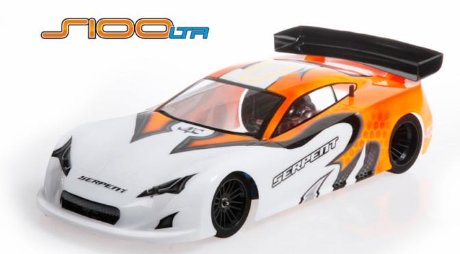 Neue Version des S100-LTR 1/10 Pan Car von Serpent