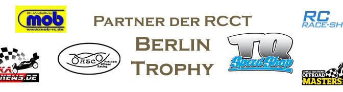 Wichtige Info zum 2.Lauf zur Berlin-Trophy am 02./03.01.2016