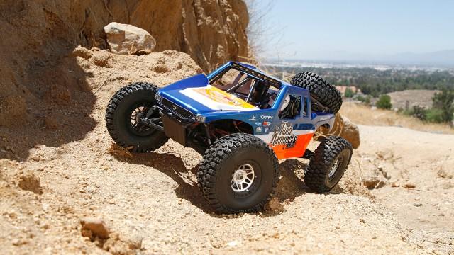 Twin Hammers 1/10 4WD Desert Truck 1.9 Rock Racer RTR