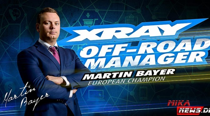Martin Bayer – Team XRAY Offroad Manager