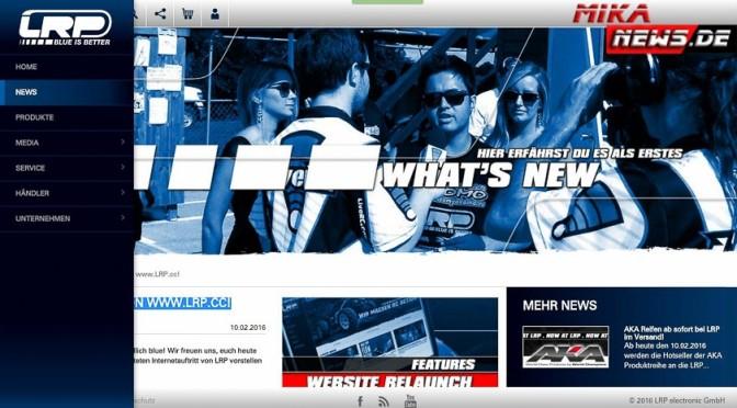 RELAUNCH VON WWW.LRP.CC!