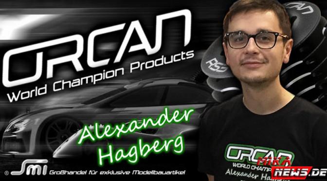 Titelverteidigung ist das Ziel: Alexander Hagberg weiter mit SMI,ORCAN
