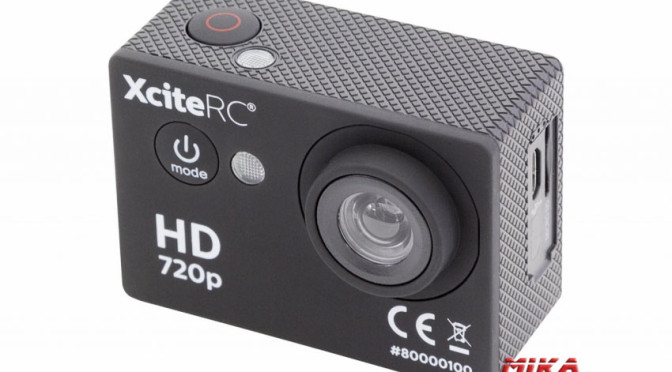 XciteRC Action-Cam HD 5MP schwarz