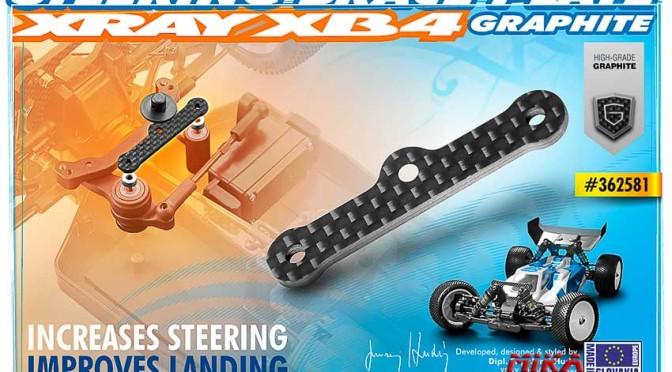 XB4 Kohlefaserplatte 2.0mm für die Lenkungsbolzen