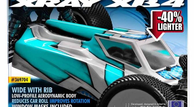 Neue leichtere Karosserie für den Xray XB4