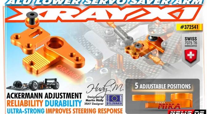 Xray X1 einstellbare Aluminium – Anlenkung – Orange