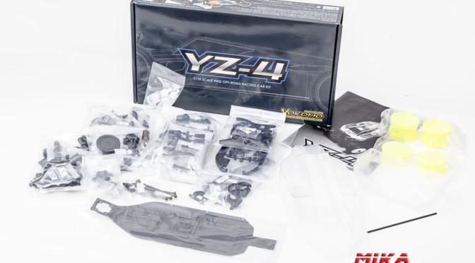 Yokomo YZ-4 – Aufbau und Konstruktion