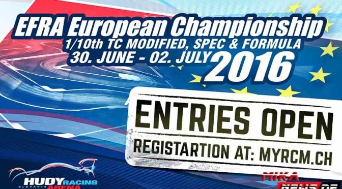 Europameisterschaft 1/10 für TW Stock und Formel 1 in der Hudy-Arena