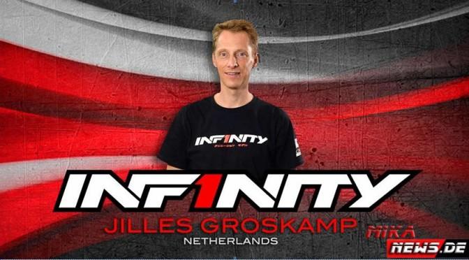 Jilles Groskamp wechselt zu Team Infinity