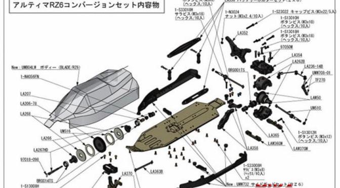 UMW730 – Kyosho ULTIMA RZ6 Umrüst-Kit