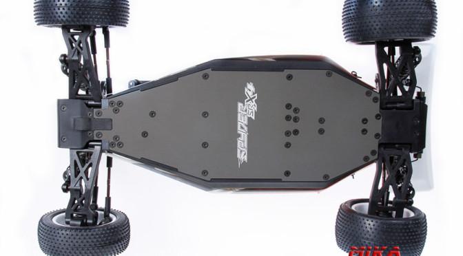Serpent Spyder SRX4 mit Aluminium-Chassis lieferbar