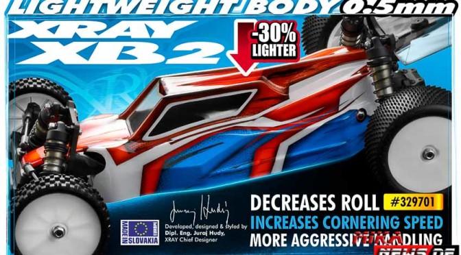 XB2 News – Neue leichtere Karosserie