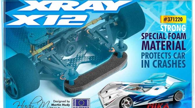 Neuer Schaumstoff für den Xray X12