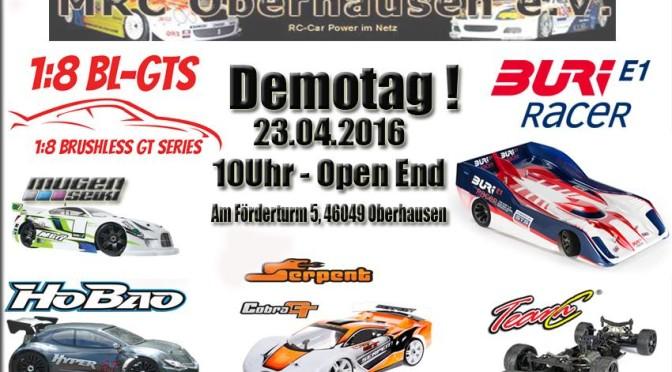 Demotag für 1:8-GT-Fahrzeuge und Buri Racer in Düren und Oberhausen