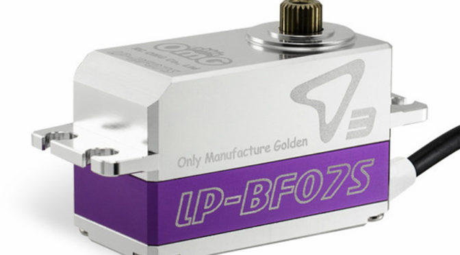 D3-LP-BF07S 1:10 Drifting RC-Car Low Profile Full Metal Brushless Digital Servo