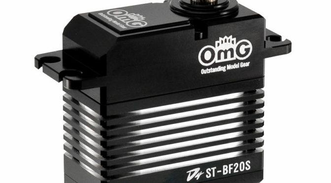 D4-ST-BF20S 1:8 / 1:10  RC Buggy Full Metal Brushless Digital Servo