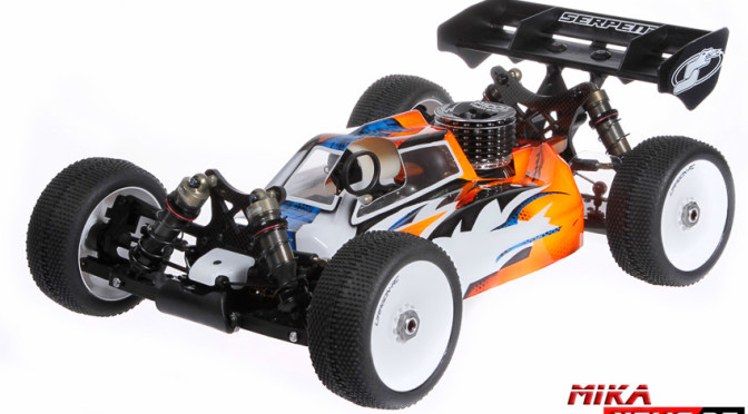 NEU: Serpent Cobra SRX8  1/8 Scale Buggy